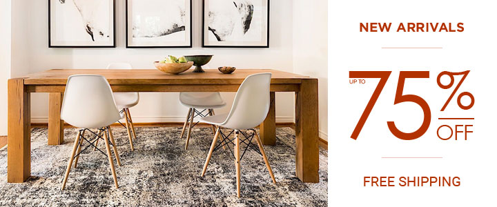 Area Rug Sale - New Arrivals - Up to 49% Off