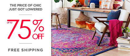 Area Rug Clearance Sale - Up to 80% Off