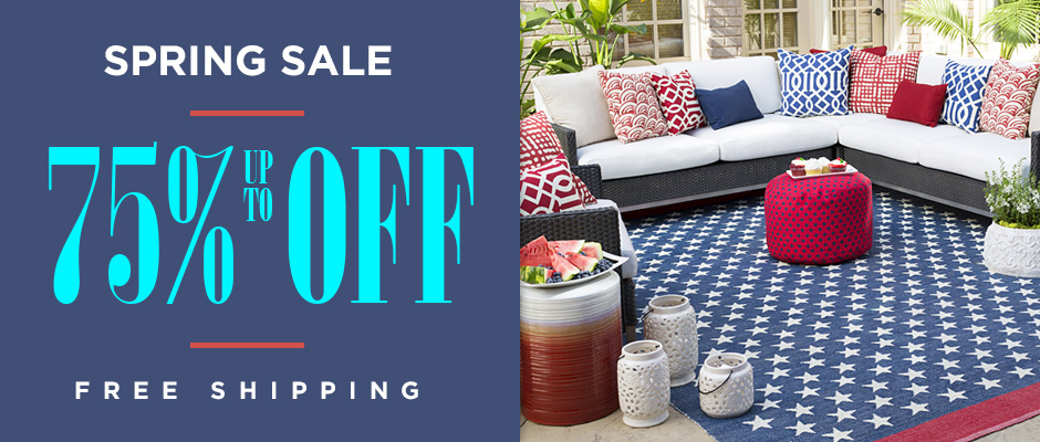 Spring Clearance Sale - Up to 75% Off
