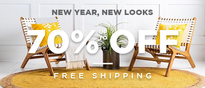 New Year New Looks - Up to 70% Off