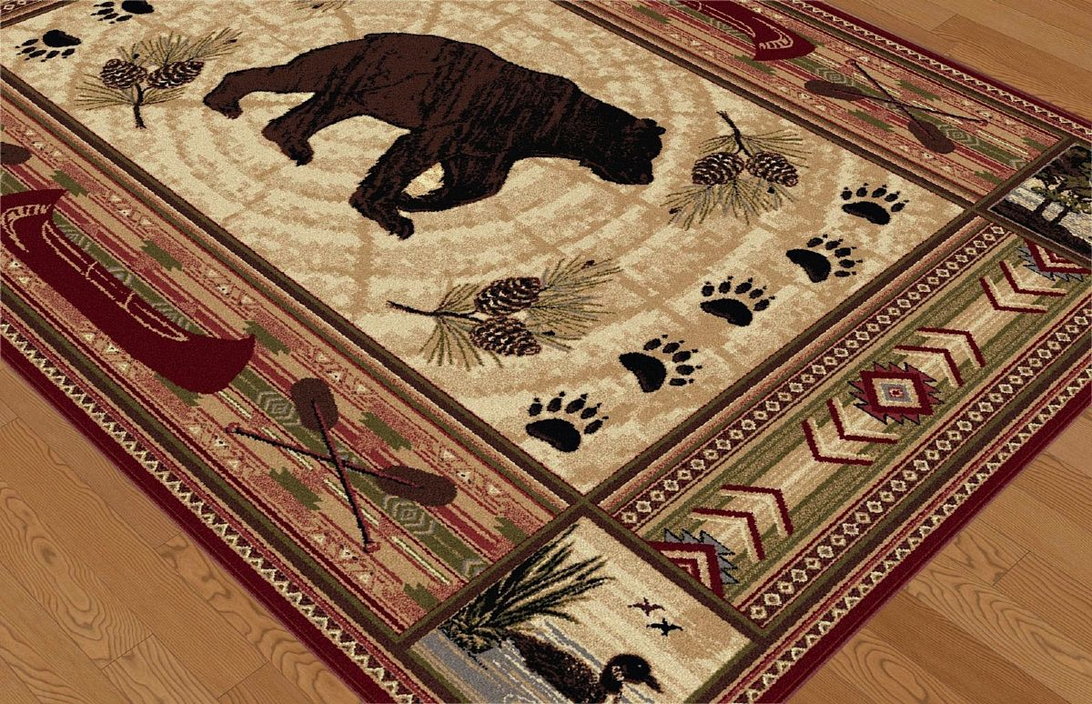Tayse Nature Southwestern Lodge Area Rug Collection