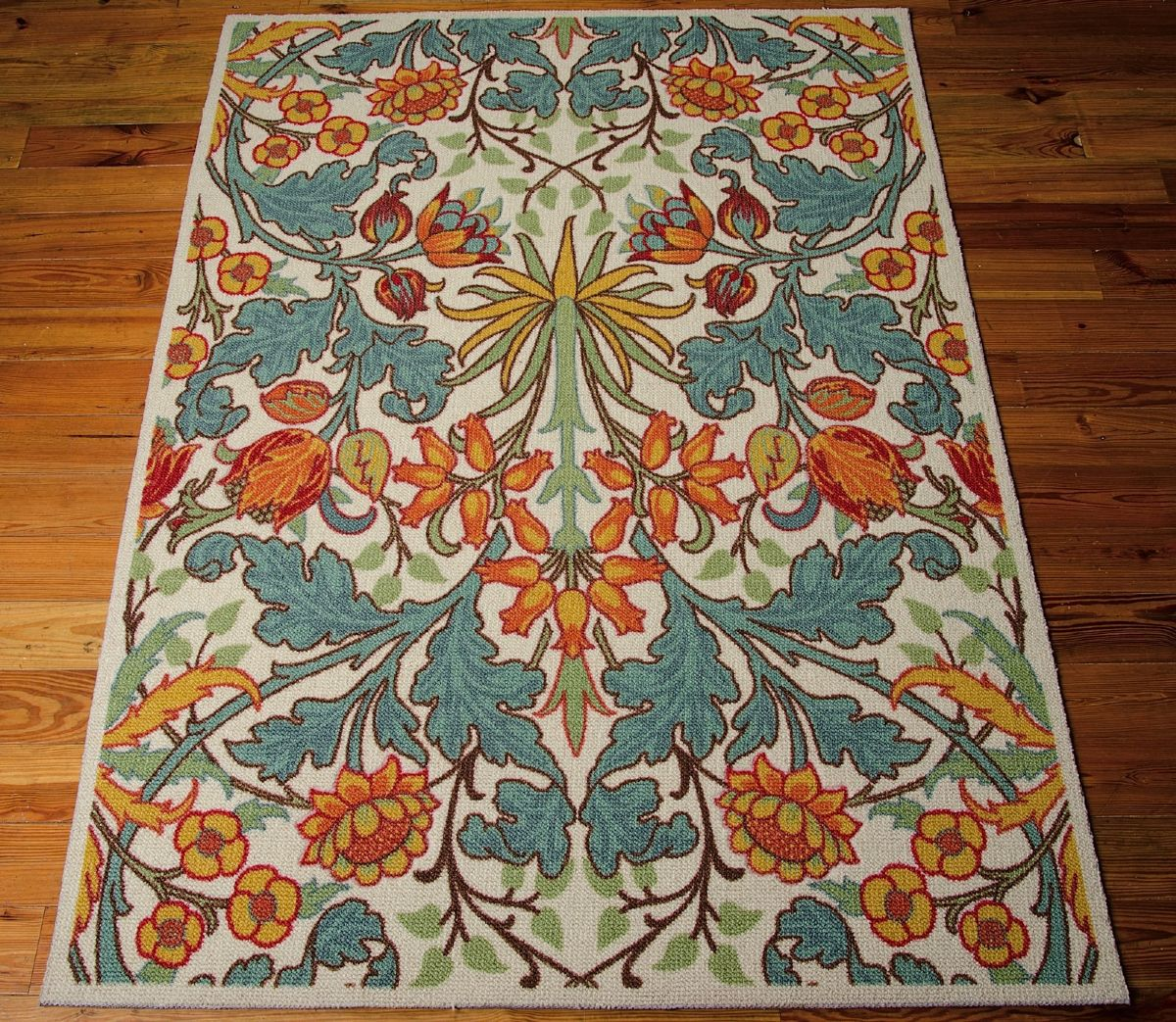 Nourison Vista Country Floral Area Rug Collection Rugpal
