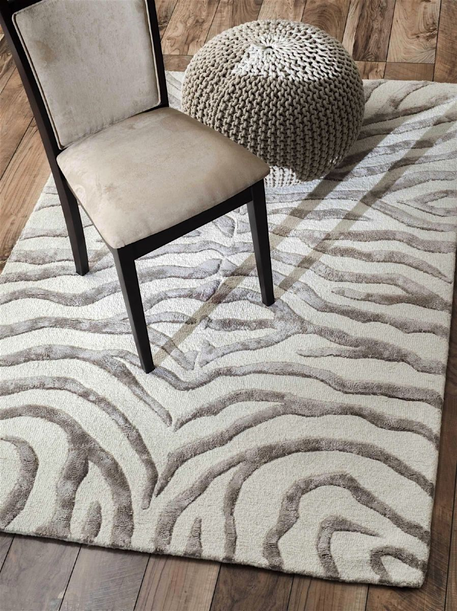 Nuloom Plush Zebra Animal Inspirations Area Rug Collection