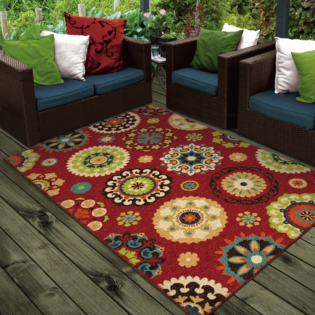 Orian Veranda Indoor Outdoor Area Rug Collection Rugpal