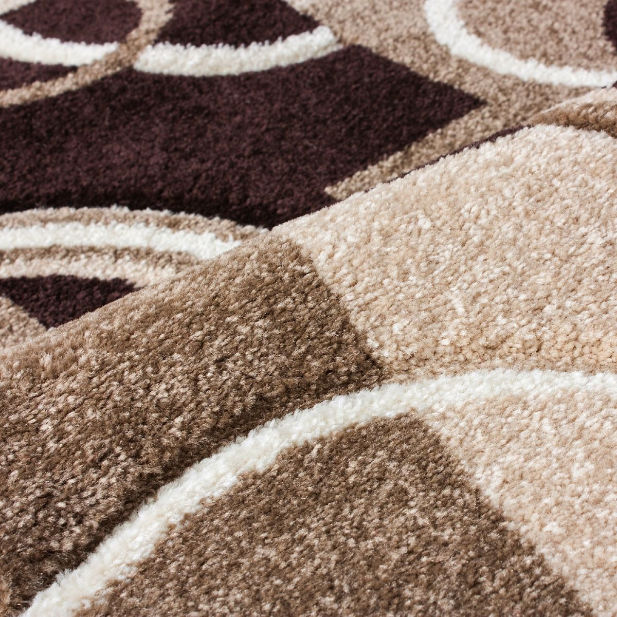 Well Woven Ruby Galaxy Waves Contemporary Area Rug