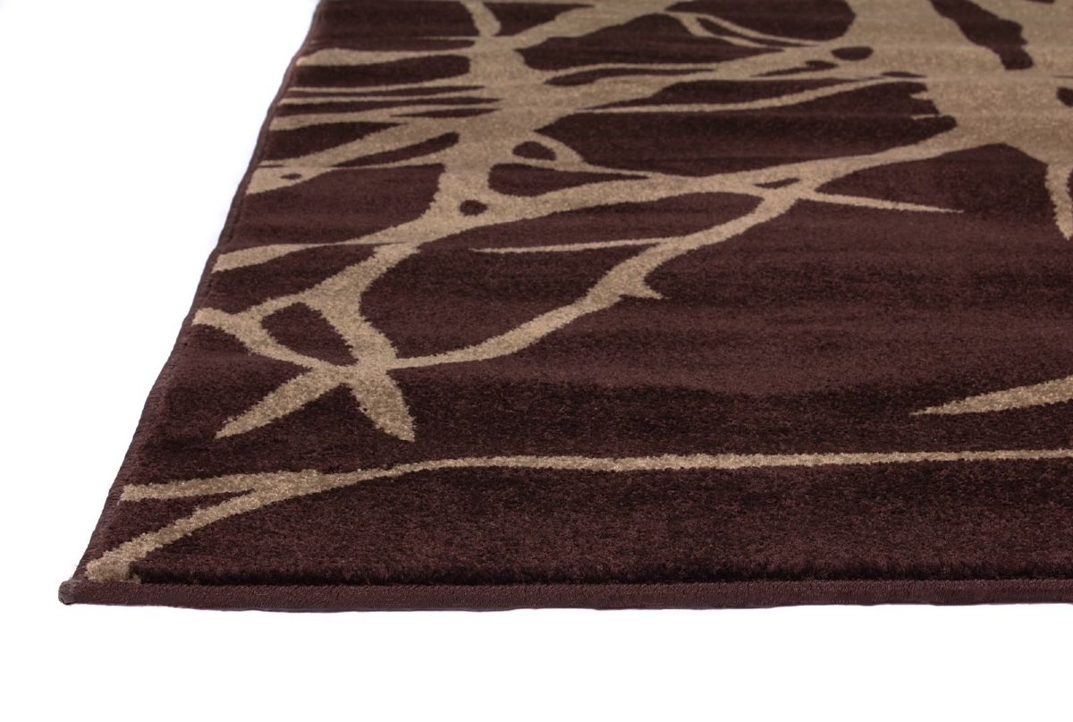 Well Woven Ruby Tree Branches Contemporary Area Rug