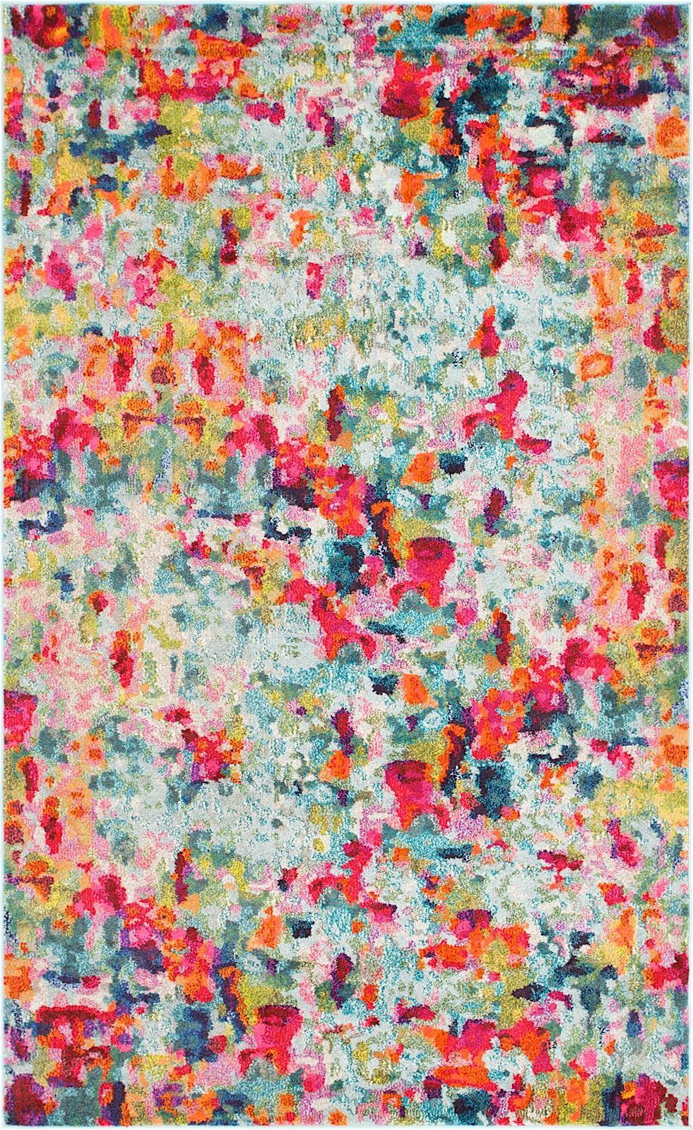 unique loom chromatic contemporary area rug collection