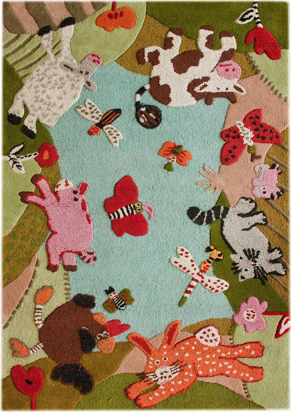 nuloom kinderloom kids area rug collection