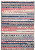 Colonial Mills Braided Print Party - Rects Area Rug Collection