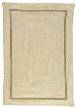 Colonial Mills Braided Shear Natural Area Rug Collection