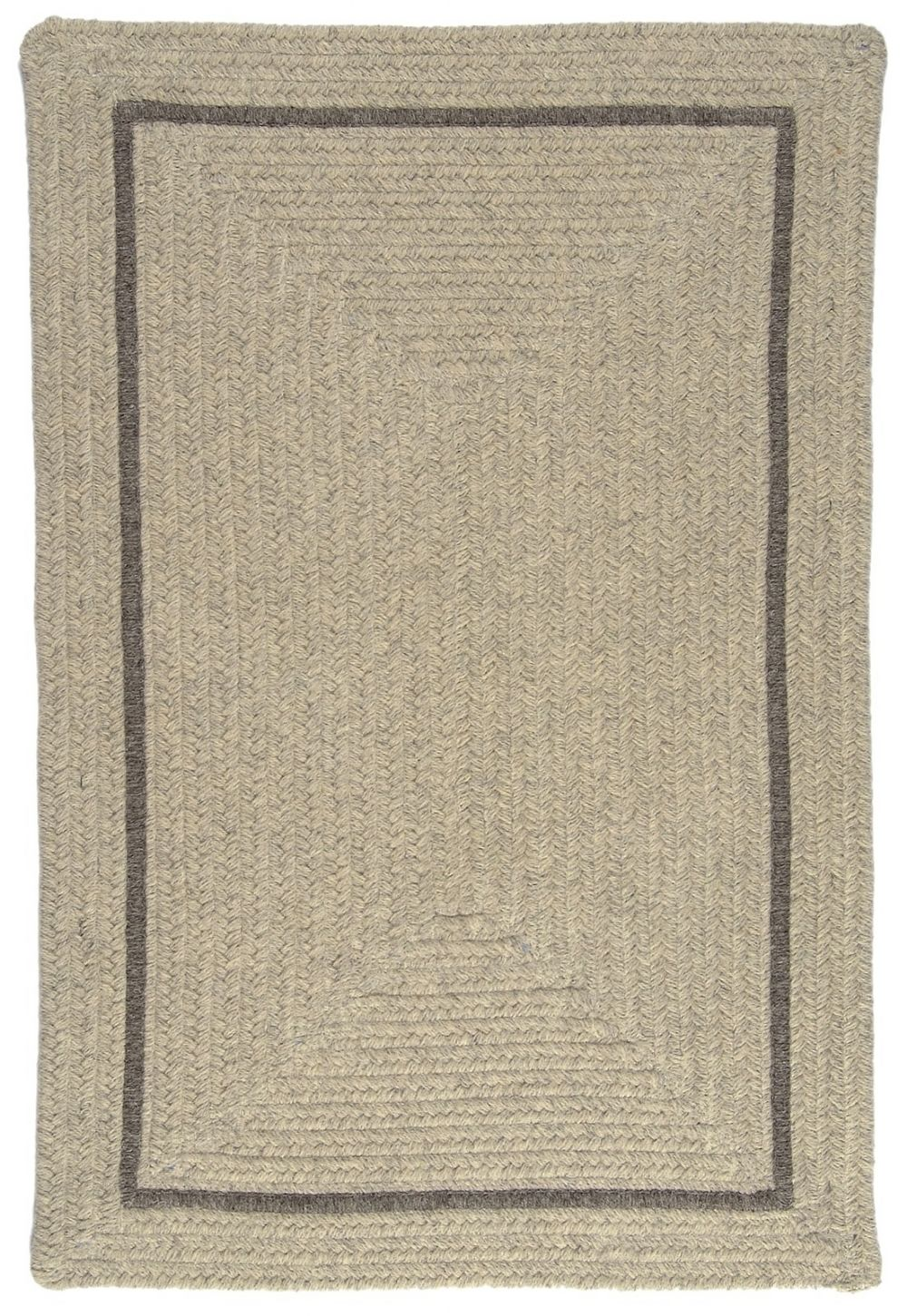 colonial mills shear natural braided area rug collection