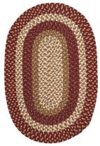 Colonial Mills Braided Pattern-Made Area Rug Collection
