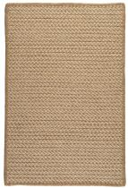 Colonial Mills Braided Natural Wool Houndstooth Area Rug Collection