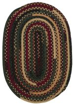 Colonial Mills Braided Market Mix Oval Area Rug Collection