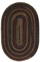 Colonial Mills Braided Midnight Area Rug Collection