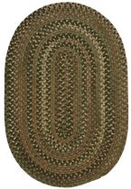 Colonial Mills Braided Oak Harbour Area Rug Collection