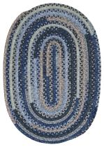 Colonial Mills Braided Print Party - Ovals Area Rug Collection