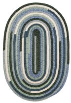 Colonial Mills Braided Quilters Choice Area Rug Collection