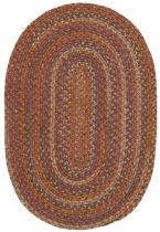 Colonial Mills Braided Rustica Area Rug Collection