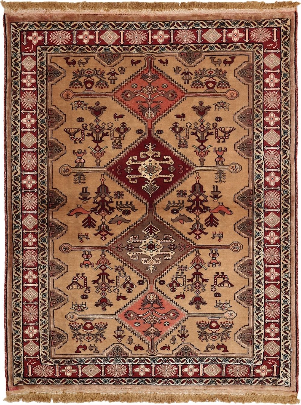 darya chechen traditional area rug collection