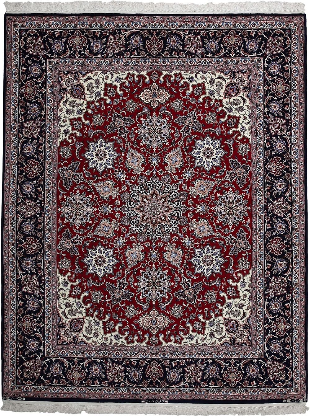 darya isfahan traditional area rug collection