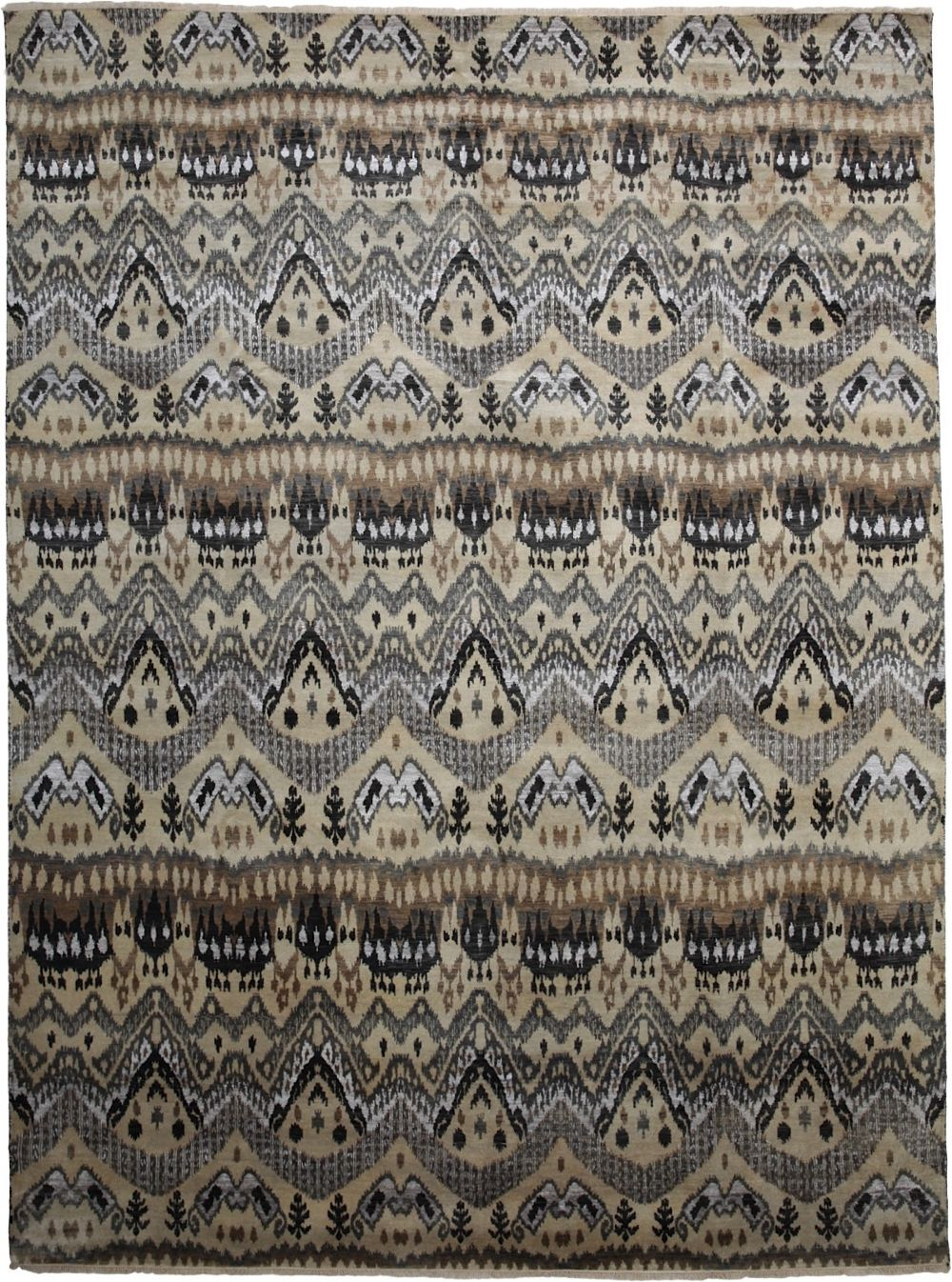 darya ikat traditional area rug collection