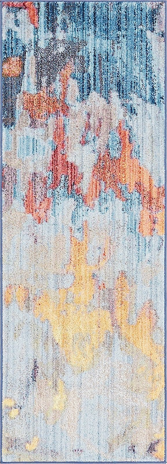 unique loom downtown  by jill zarin contemporary area rug collection