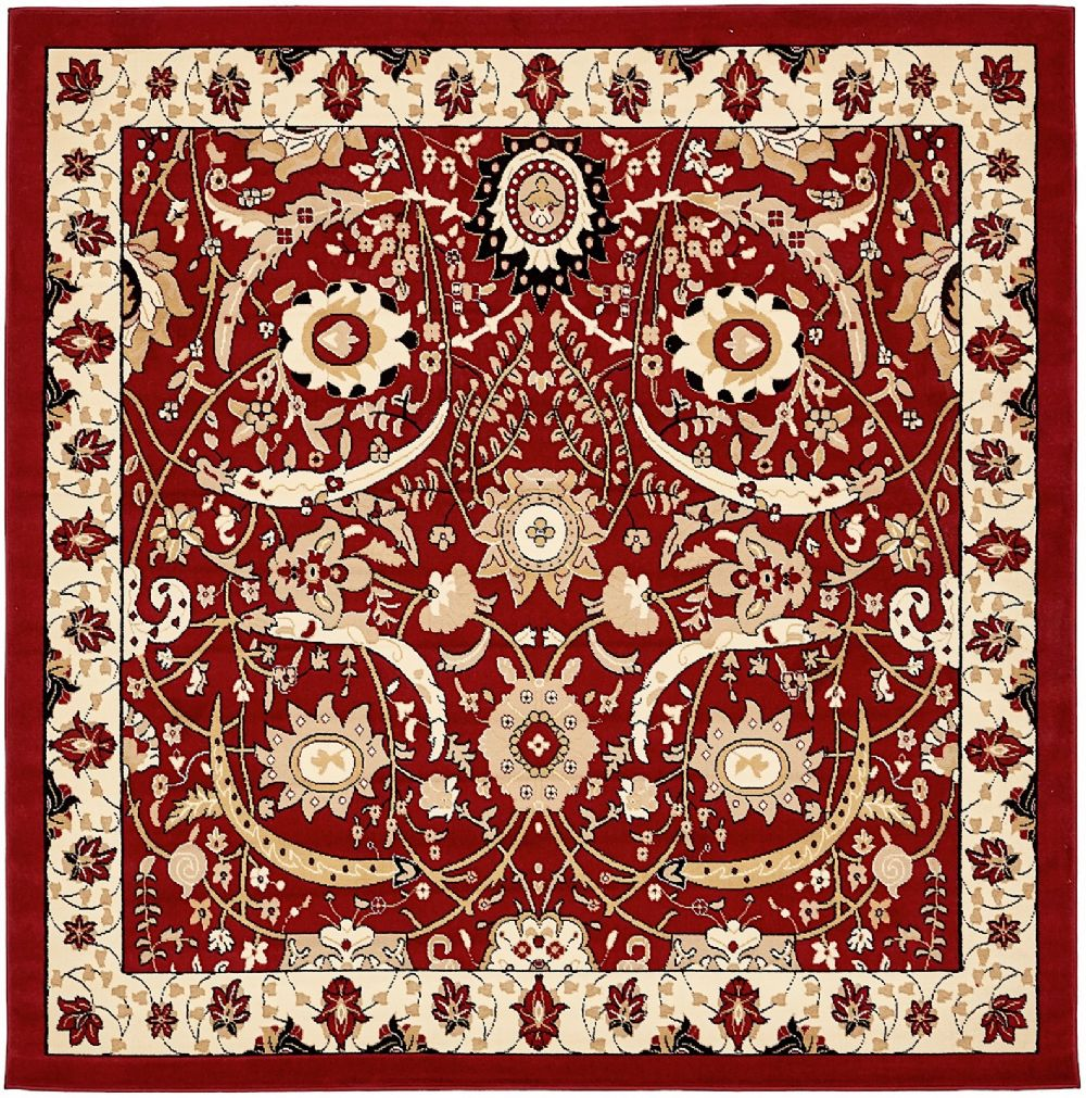 rugpal kashan country & floral area rug collection