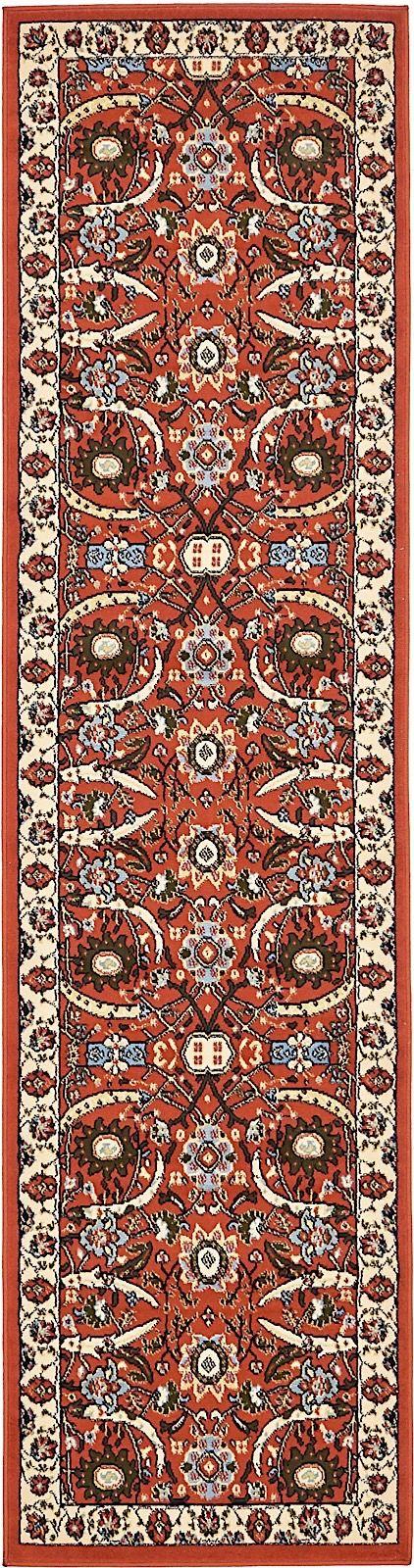 unique loom espahan country & floral area rug collection
