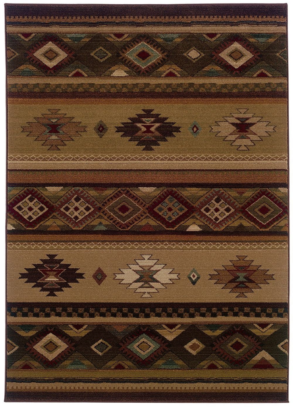 oriental weavers genesis southwestern/lodge area rug collection