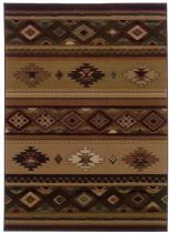 Oriental Weavers Southwestern/Lodge Genesis Area Rug Collection