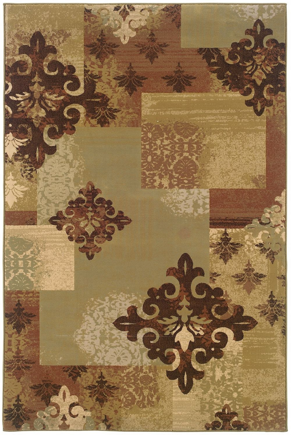 oriental weavers genre transitional area rug collection