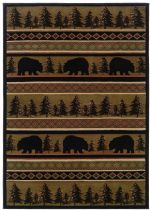 Rectangle Area Rug, Machine Made Rug, Transitional, Hudson, Oriental Weavers Rug