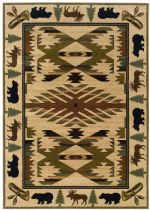 Oriental Weavers Southwestern/Lodge Hudson Area Rug Collection