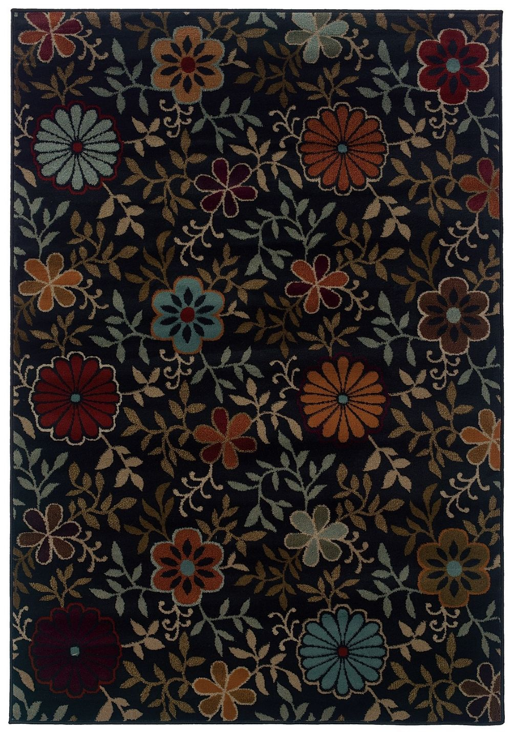 oriental weavers adrienne country & floral area rug collection