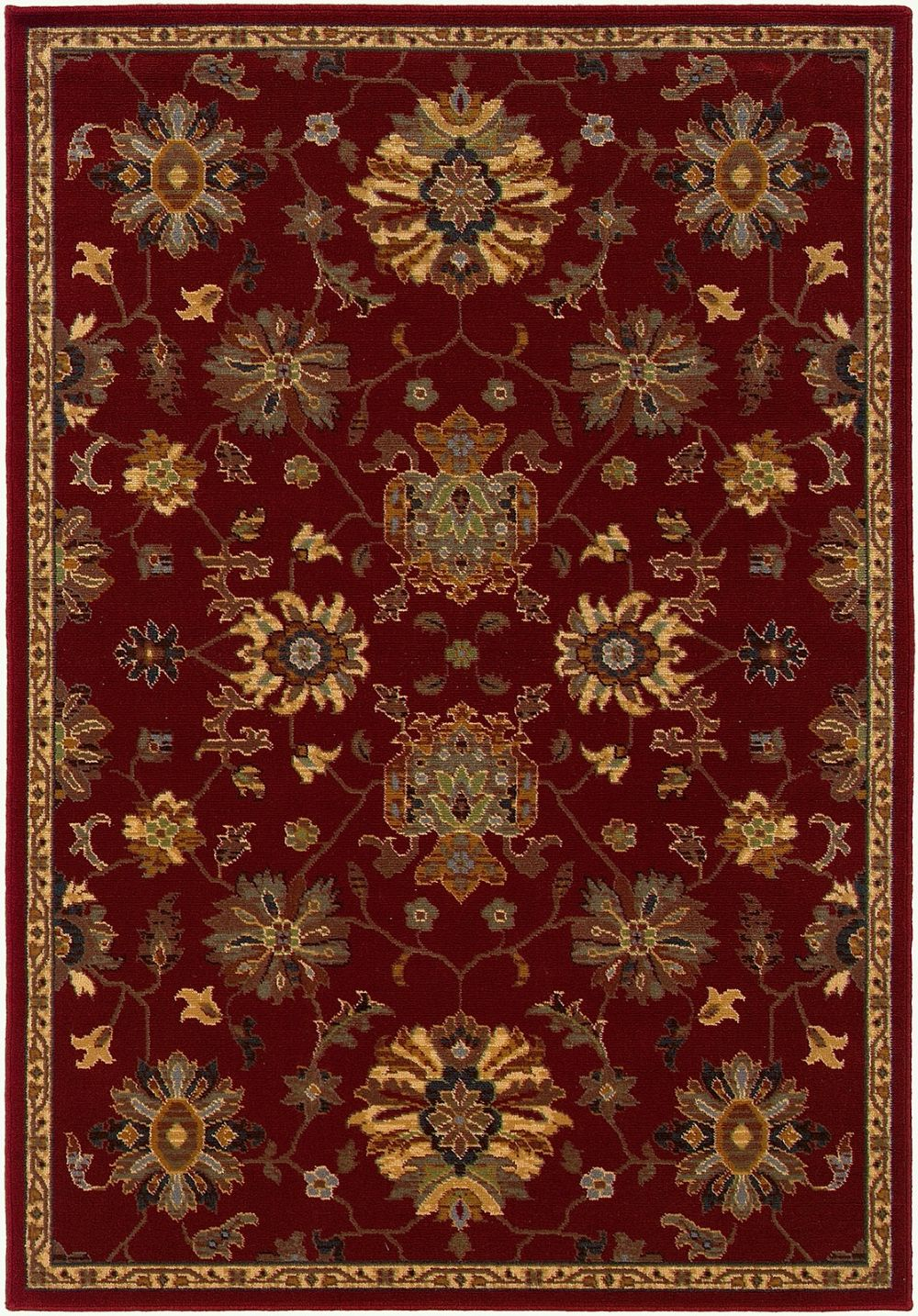 oriental weavers ensley traditional area rug collection