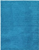 Unique Loom Solid/Striped Solid Shag Area Rug Collection