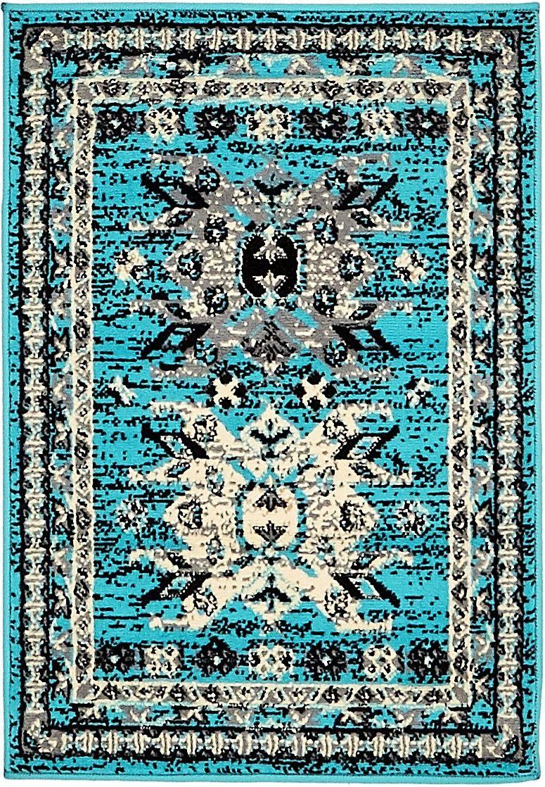 unique loom taftan southwestern/lodge area rug collection