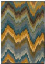 Oriental Weavers Contemporary Kaleidoscope Area Rug Collection