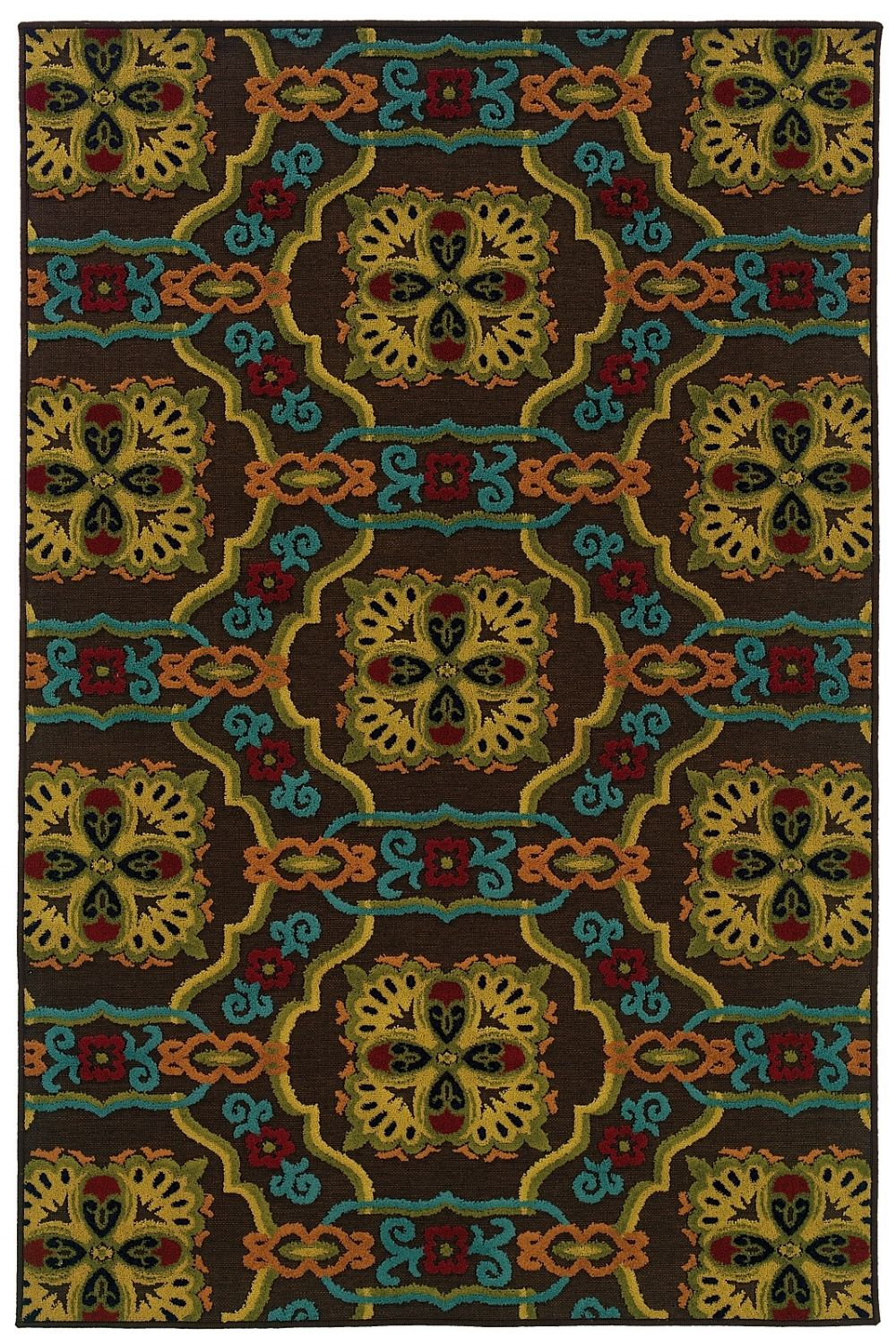oriental weavers lagos indoor/outdoor area rug collection
