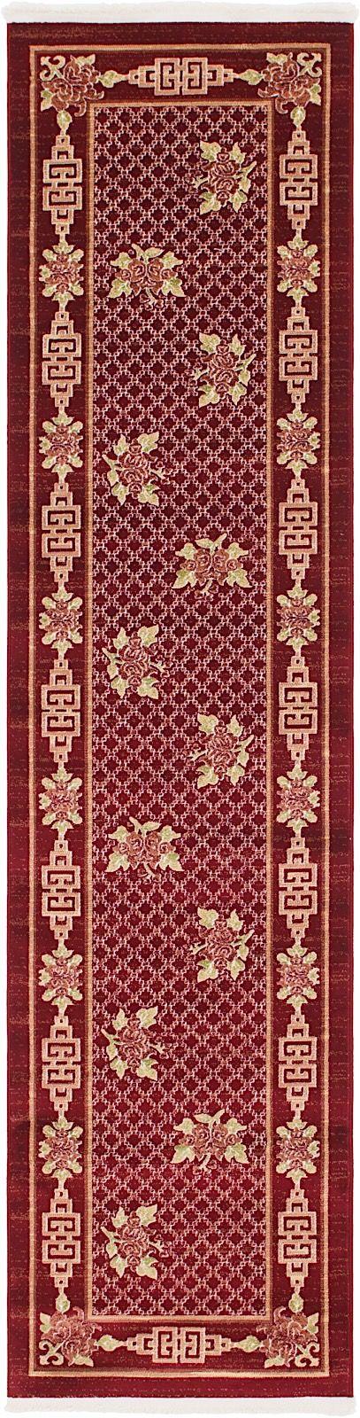 unique loom gansu country & floral area rug collection