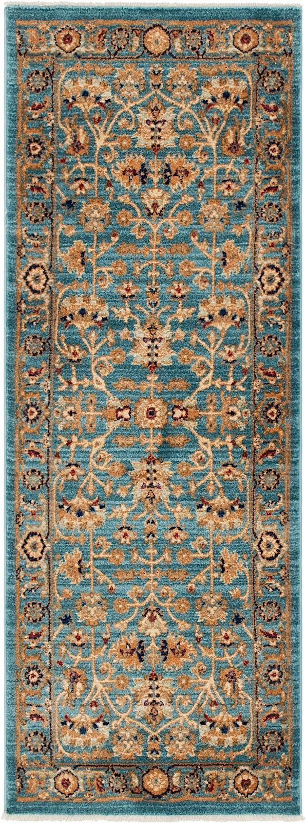 unique loom graham traditional area rug collection