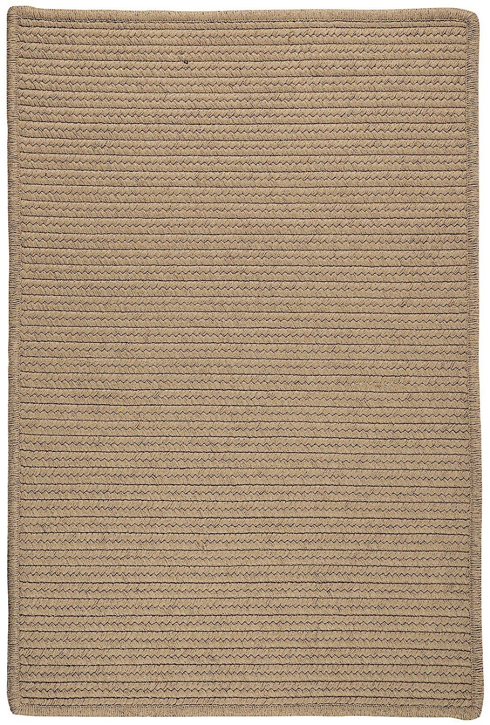 colonial mills sunbrella solid braided area rug collection
