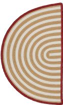 Colonial Mills Braided Sliced Stripe Area Rug Collection