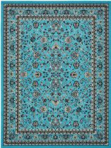 Unique Loom Traditional Sialk Hill Area Rug Collection