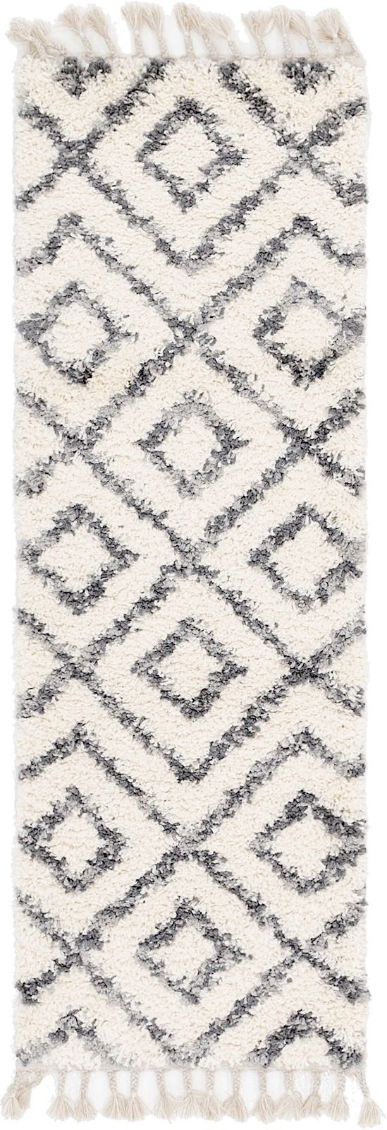 unique loom hygge shag shag area rug collection