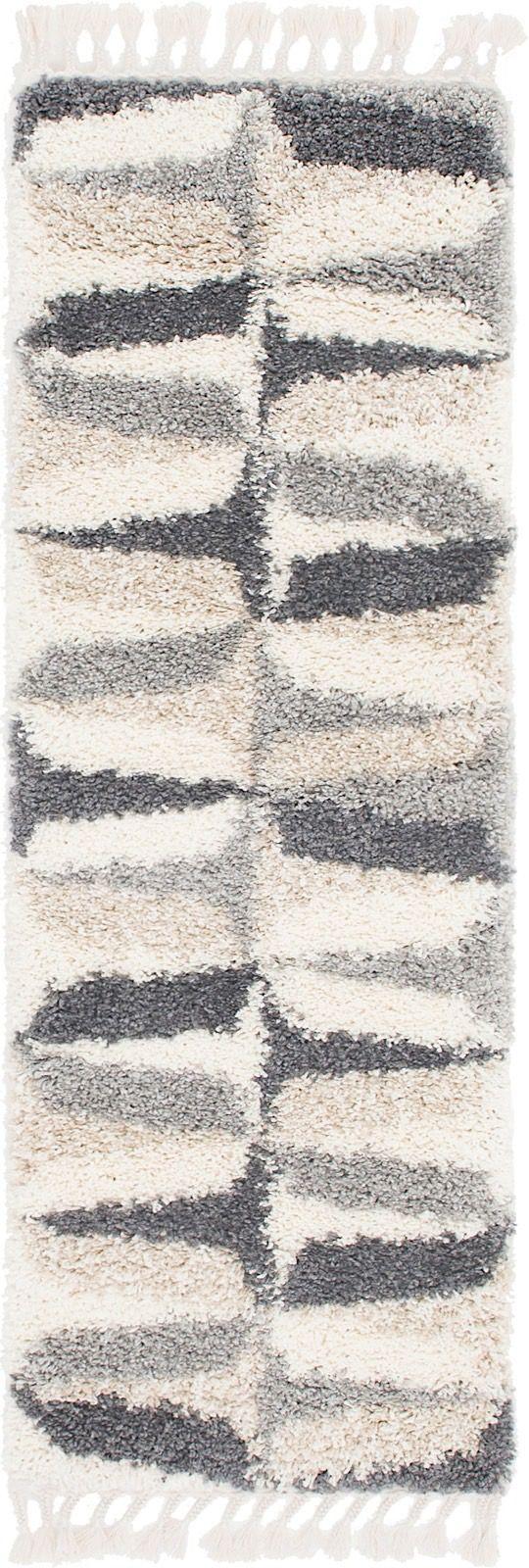 unique loom hygge shag shag area rug collection