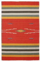 Rectangle rug, Flat Weave rug, Southwestern/Lodge, Sedona, St Croix Trading rug
