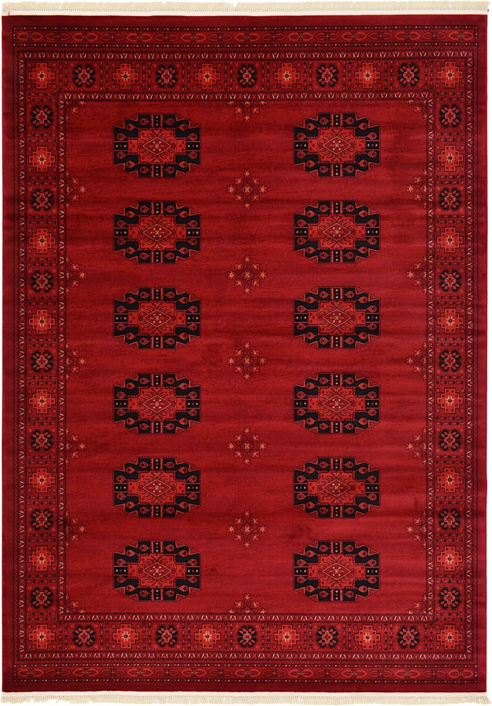 unique loom tekke traditional area rug collection