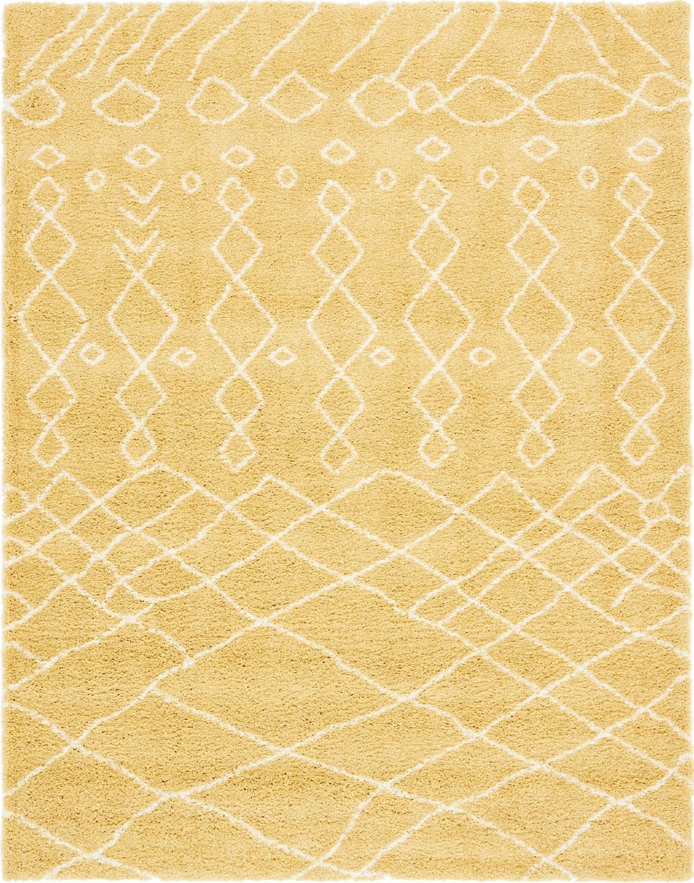 unique loom rabat shag shag area rug collection